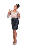Confident successful business woman Royalty Free Stock Photos