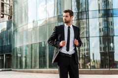 Confident and successful. Royalty Free Stock Images