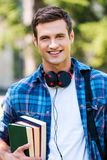 Confident and successful student. Royalty Free Stock Photo