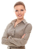 Confident and successful young woman Royalty Free Stock Images