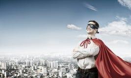 Confident super hero Royalty Free Stock Image