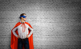 Confident superhero Royalty Free Stock Photography