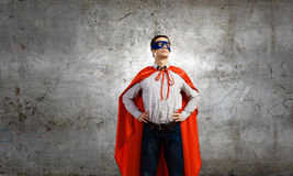 Confident superhero Royalty Free Stock Photography
