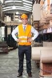 Confident Supervisor at Warehouse Royalty Free Stock Photo