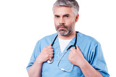 Confident surgeon. Royalty Free Stock Photography
