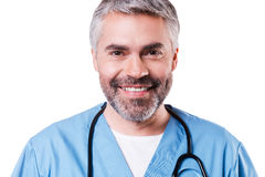 Confident surgeon. Stock Photos