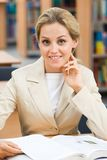 Confident teacher Royalty Free Stock Image