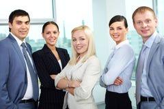 Confident team Stock Photo