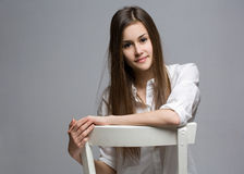 Confident teen. Royalty Free Stock Images