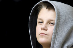 Confident teenage boy Stock Photos