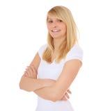 Confident teenage girl Stock Photos