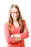 Confident teenage girl Stock Photo