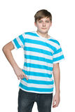 Confident teenager boy Royalty Free Stock Images