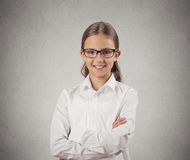 Confident teenager girl Royalty Free Stock Photos