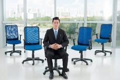 Confident Vietnamese CEO Stock Photo