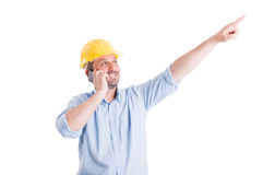 Confident and visionary engineer or architect Stock Photography