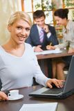 Confident woman Stock Images