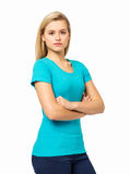 Confident Woman In Casuals Royalty Free Stock Image