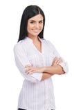 Confident woman. Royalty Free Stock Photo