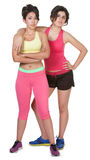 Confident Workout Girls Royalty Free Stock Photo