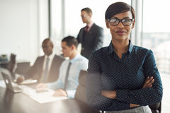 Free Confident Young African Businesswoman Stock Photo - 80678620