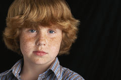 Confident Young Boy Royalty Free Stock Photo