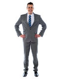 Confident young business executive Royalty Free Stock Image
