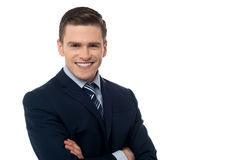 Confident young business executive Stock Photo