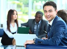 Confident young business man Royalty Free Stock Photos