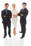 Confident Young Business Team Stock Images