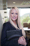 Confident young business woman Stock Photo