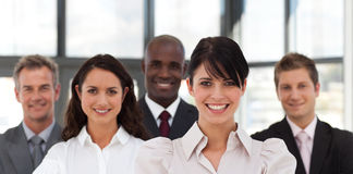 Confident Young Business woman Stock Image