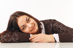 Confident Young Business Woman. Portrait of beautiful business woman Stock Photography