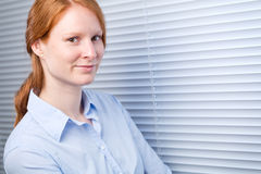 Confident Young Business Woman Stock Images