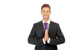 Confident young businessman Stock Image