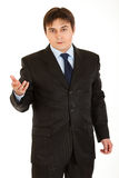 Confident young businessman looking at camera Royalty Free Stock Image