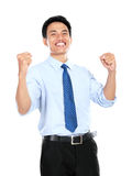 Confident young businessman looking at camera royalty free stock images