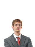 Confident Young Businessman Smiling Stock Photography