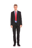 Confident young businessman standing Royalty Free Stock Photo