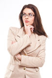 Confident young businesswoman. Stock Image