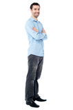 Confident young casual guy Royalty Free Stock Photo