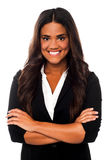 Confident young charming businesswoman Stock Photography