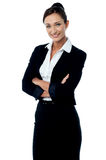 Confident young corporate woman Royalty Free Stock Photography