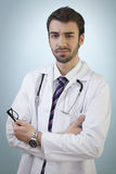 Confident Young Doctor Stock Photography