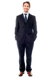 Confident young entrepreneur in formals Royalty Free Stock Photo