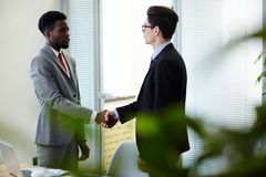 Successful Completion of Negotiations Royalty Free Stock Images