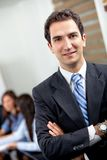 Confident young executive Stock Image