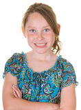 Confident young girl Stock Photography