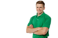 Confident young handsome man Stock Images