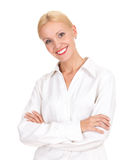 Confident young lady Royalty Free Stock Images